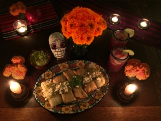 "Try a ""Day of the Dead"" party instead of a Traditional Halloween party"