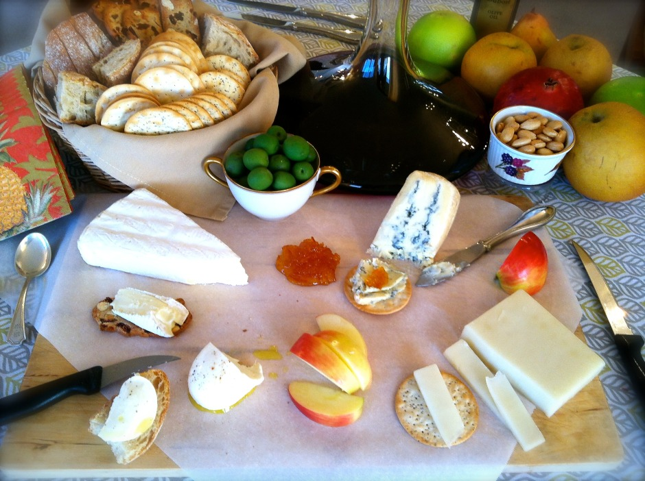 DIY Easy Entertaining: Cheese Plate