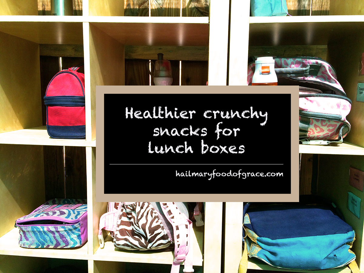 About: healthy crunchy snacks for lunch boxes