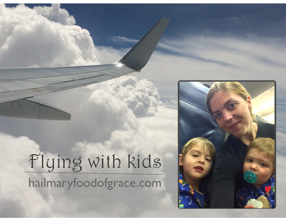 Flying with babies, toddlers and kids