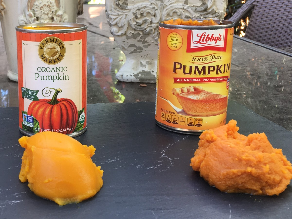 About canned pumpkin