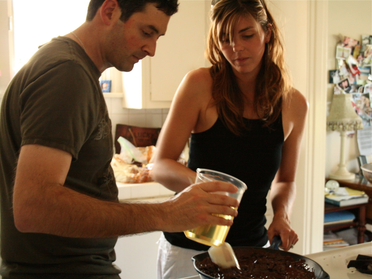 How to compromise when cooking as a couple